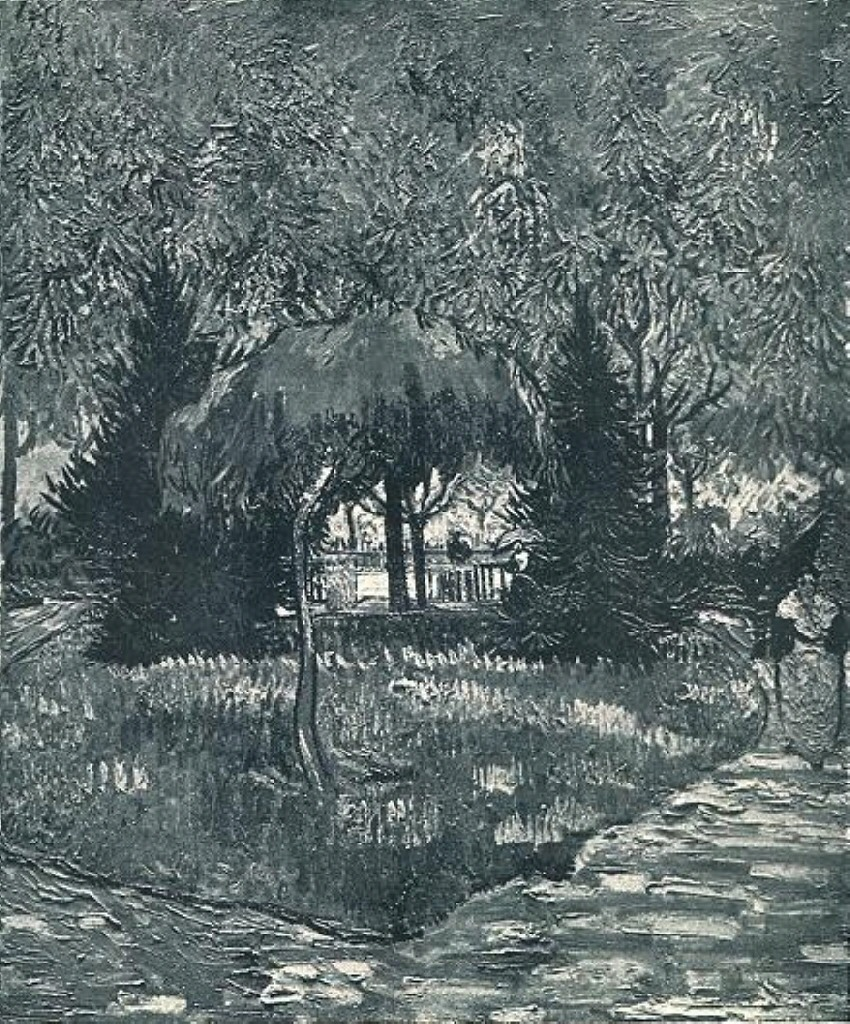 The Park at Arles with the Entrance Seen through the Trees 1888