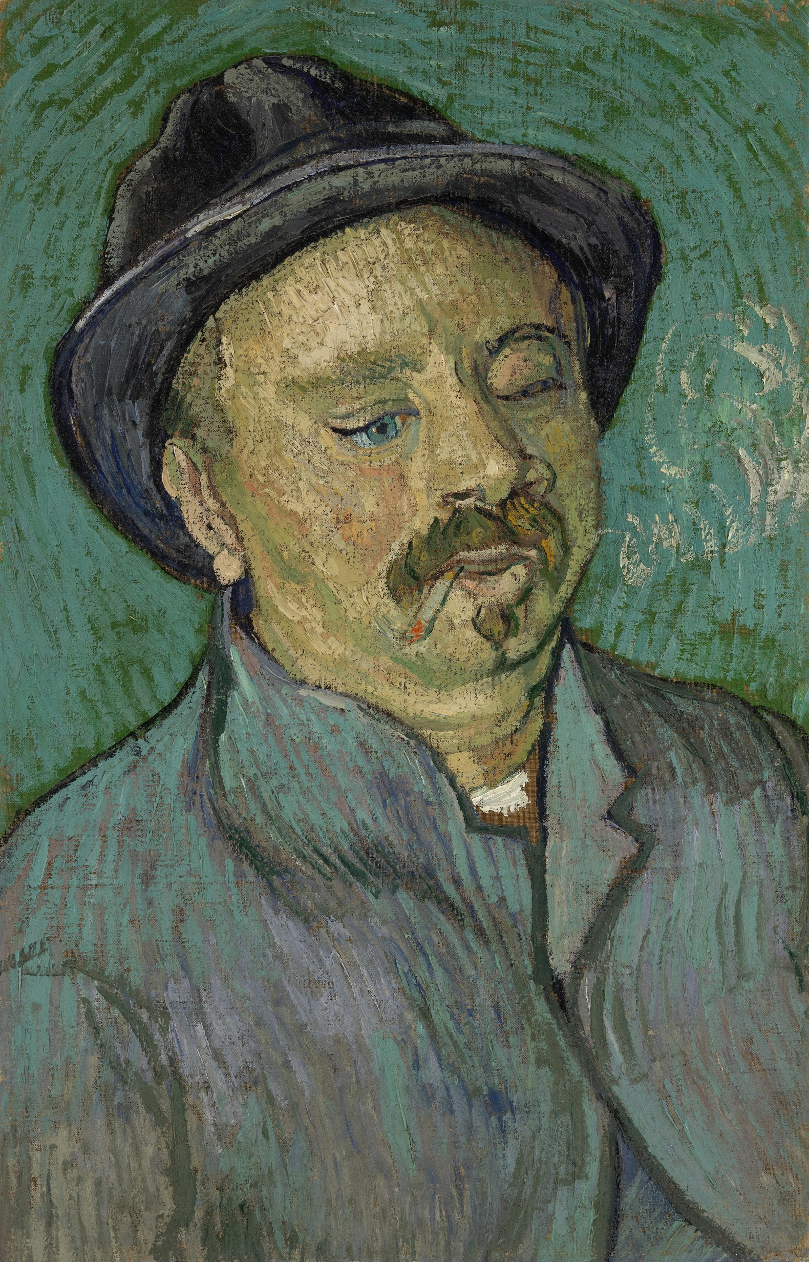 Portrait of a One-Eyed Man 1888