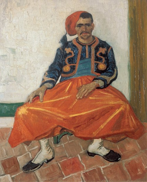 Seated Zouave 1888