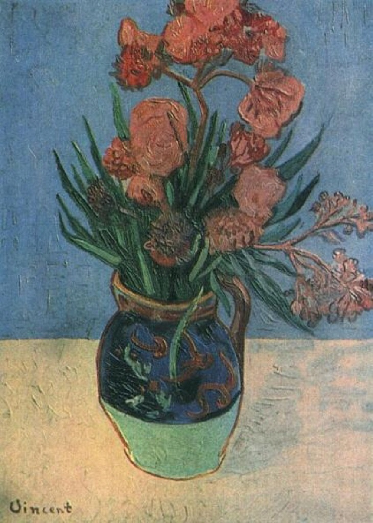 Still Life: Vase with Oleanders 1888