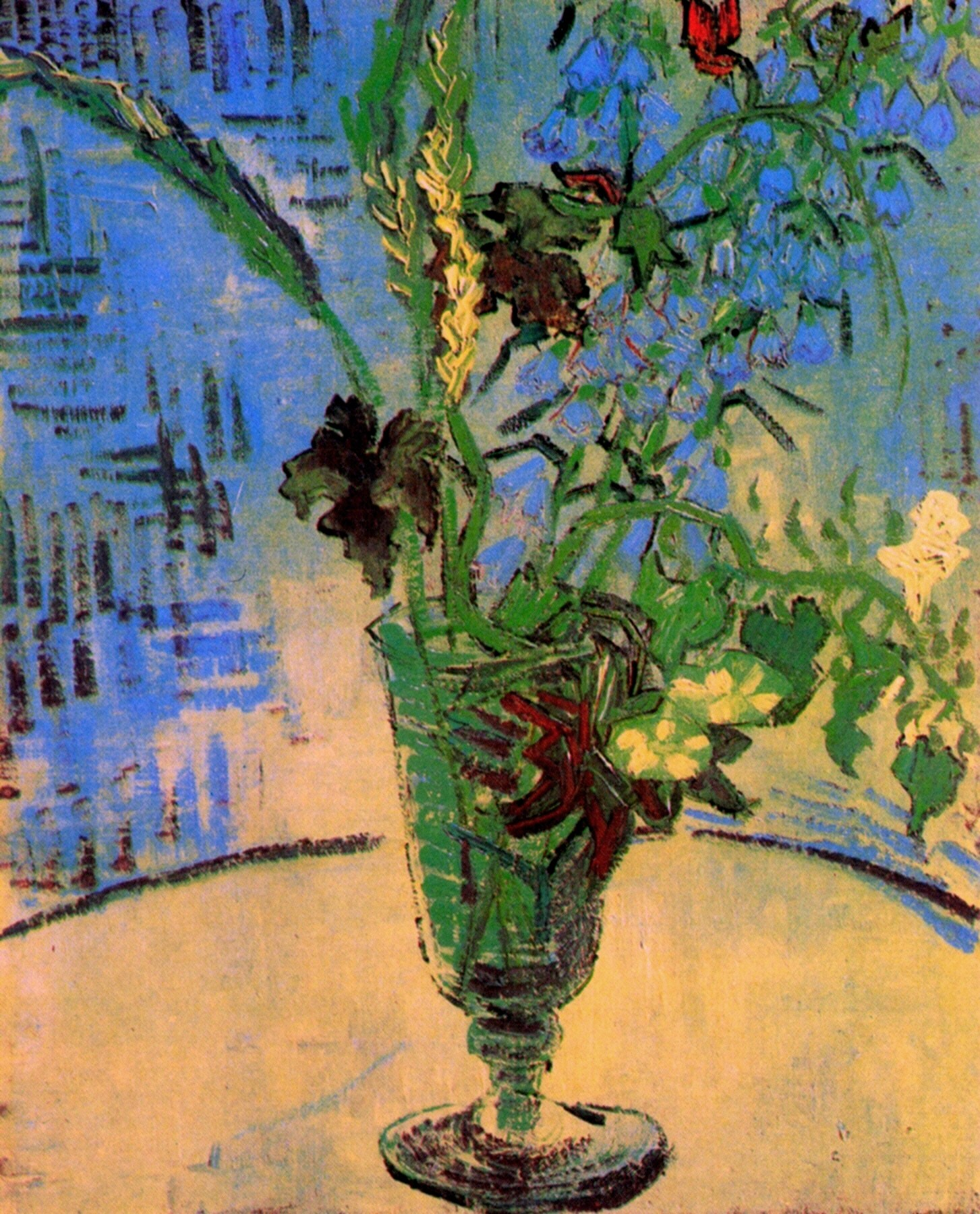 Still Life: Glass with Wild Flowers 1890