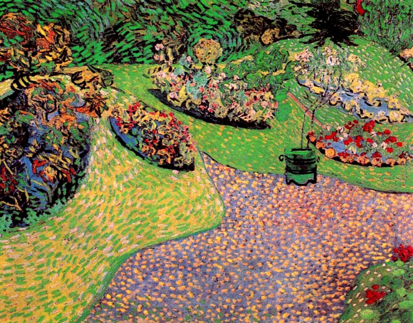 Garden in Auvers 1890