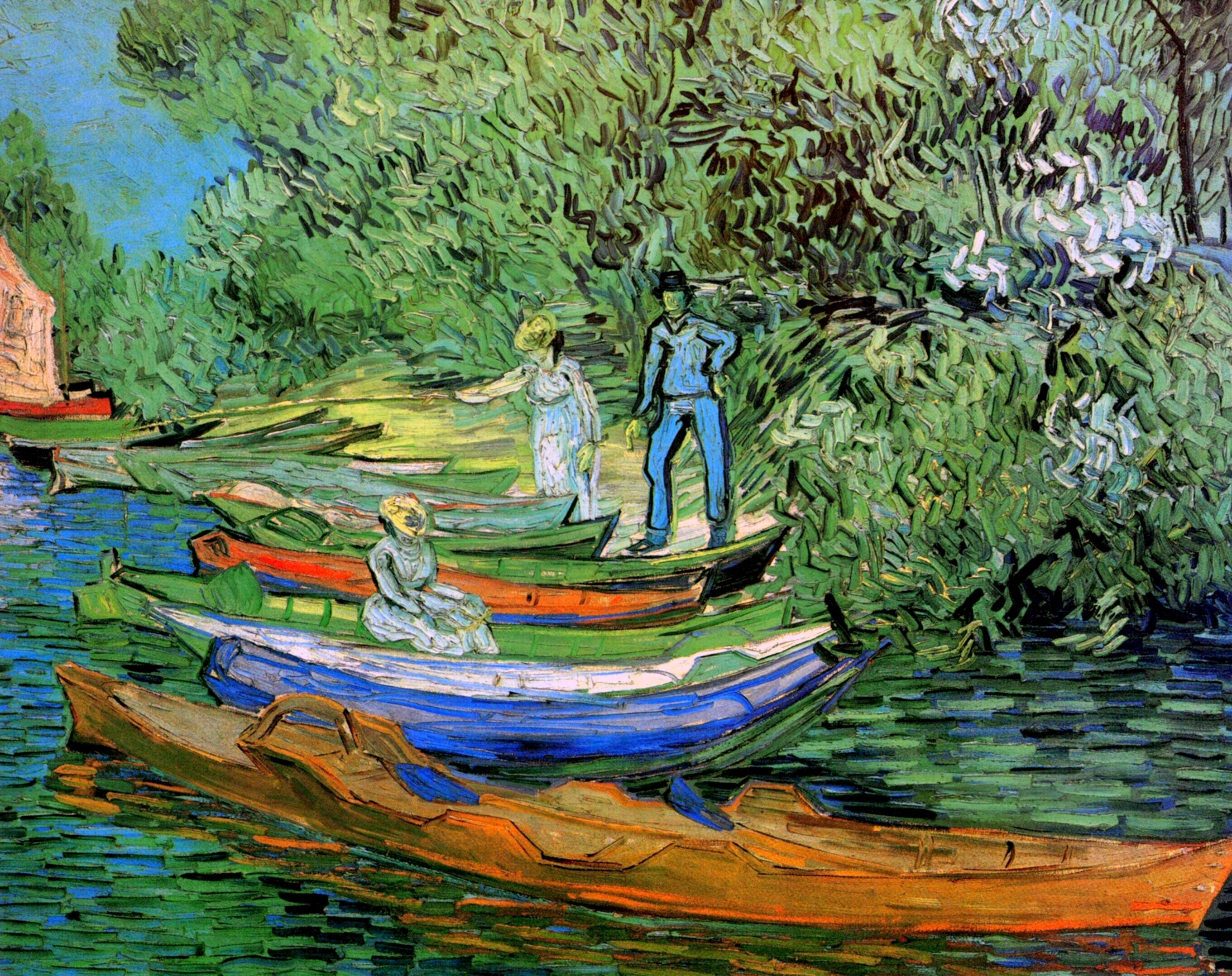Bank of the Oise at Auvers 1890