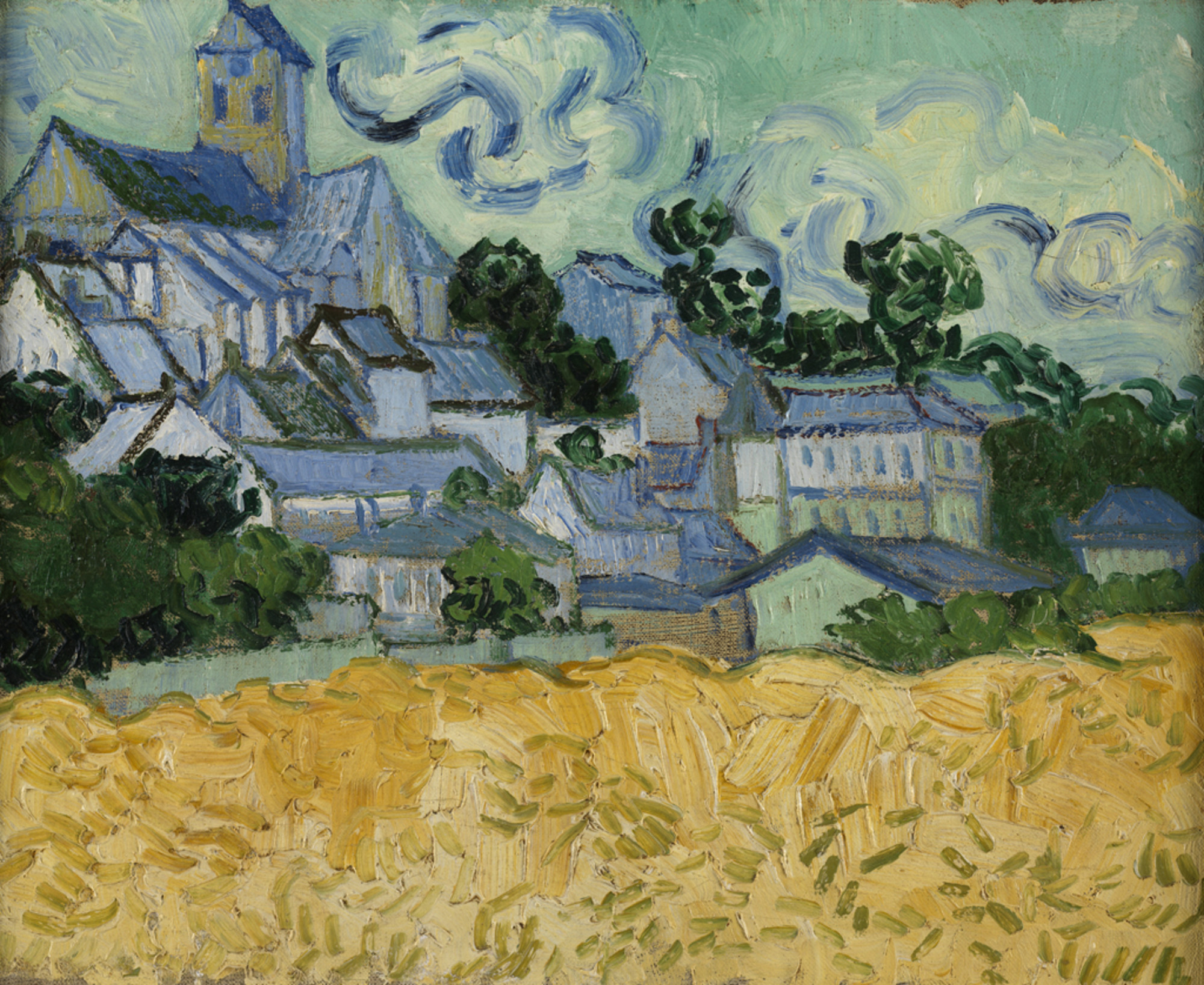 View of Auvers with Church 1890