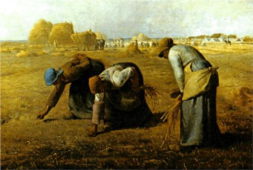 The Gleaners 1857 Jean-Francois Millet