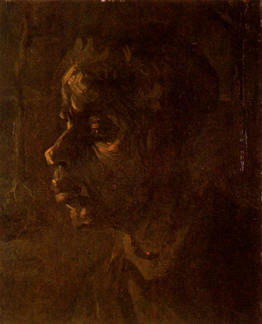 Head of a Peasant Woman 1885