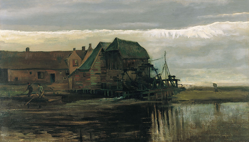 Water Mill at Gennep 1884