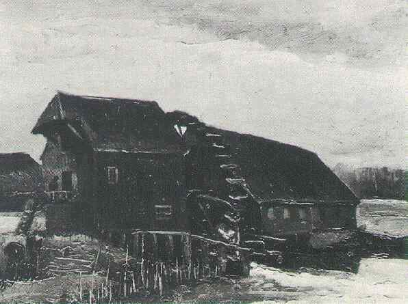 Water Mill at Opwetten 1884