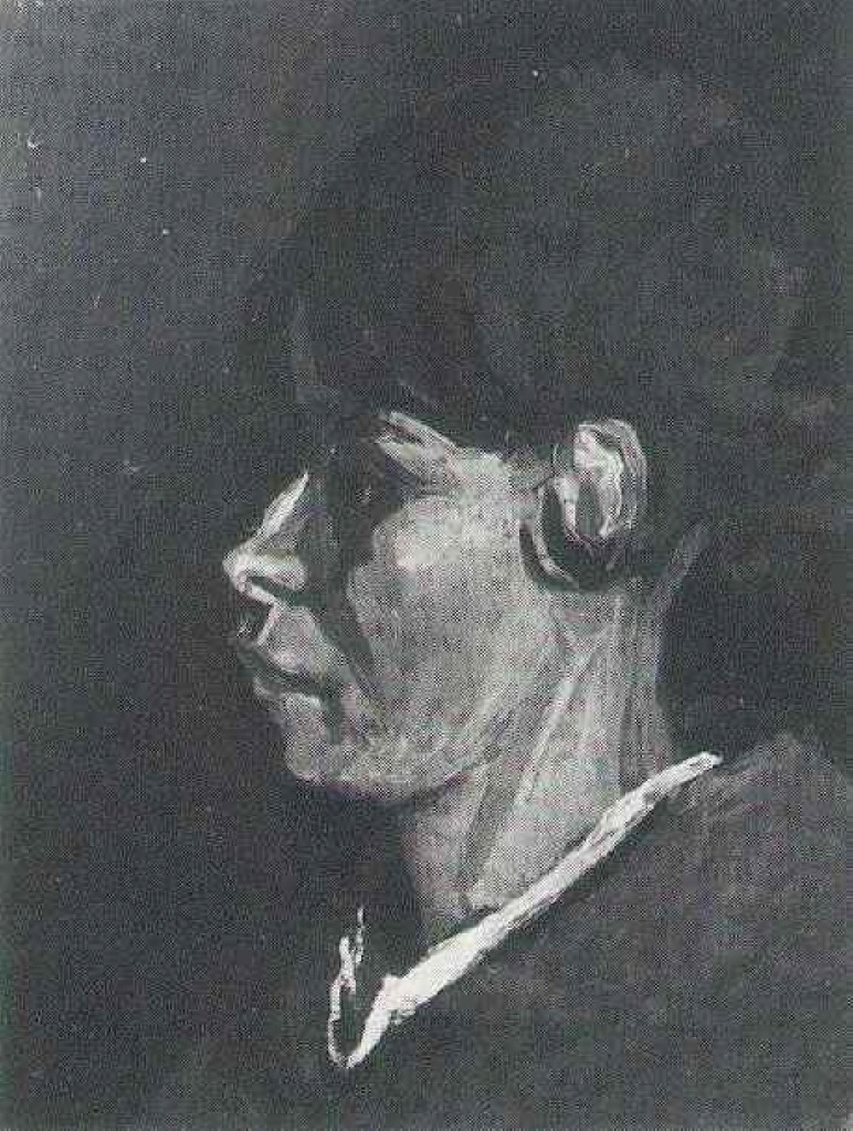 Head of a Peasant Woman 1884