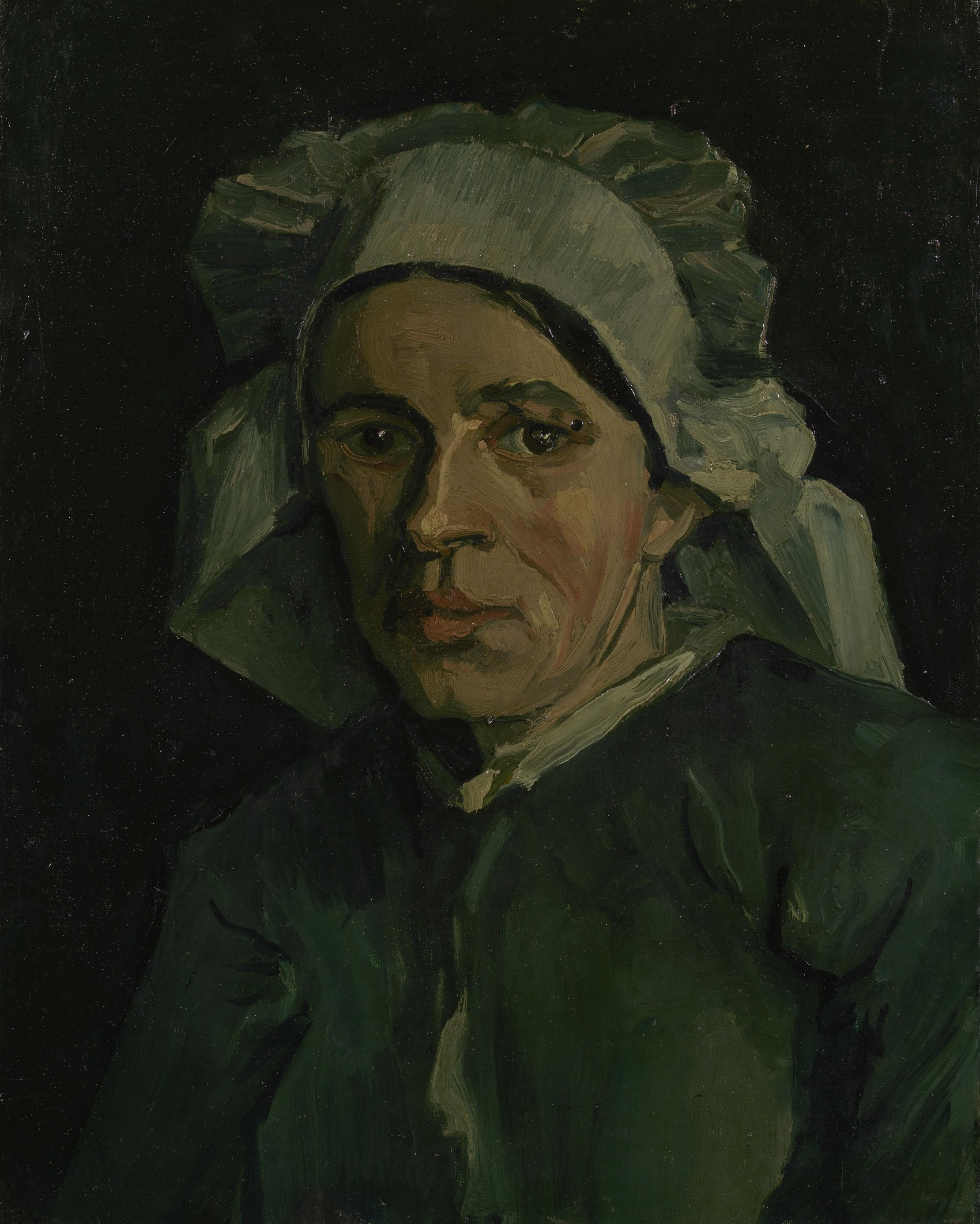 Head of a Woman 1884-1885