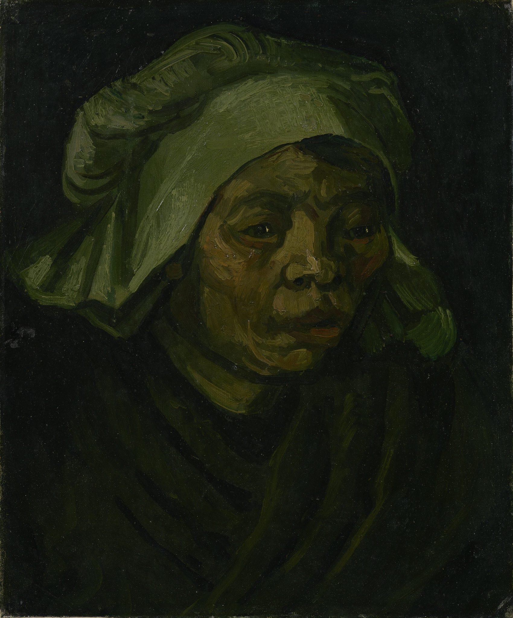 Head of a Woman 1884