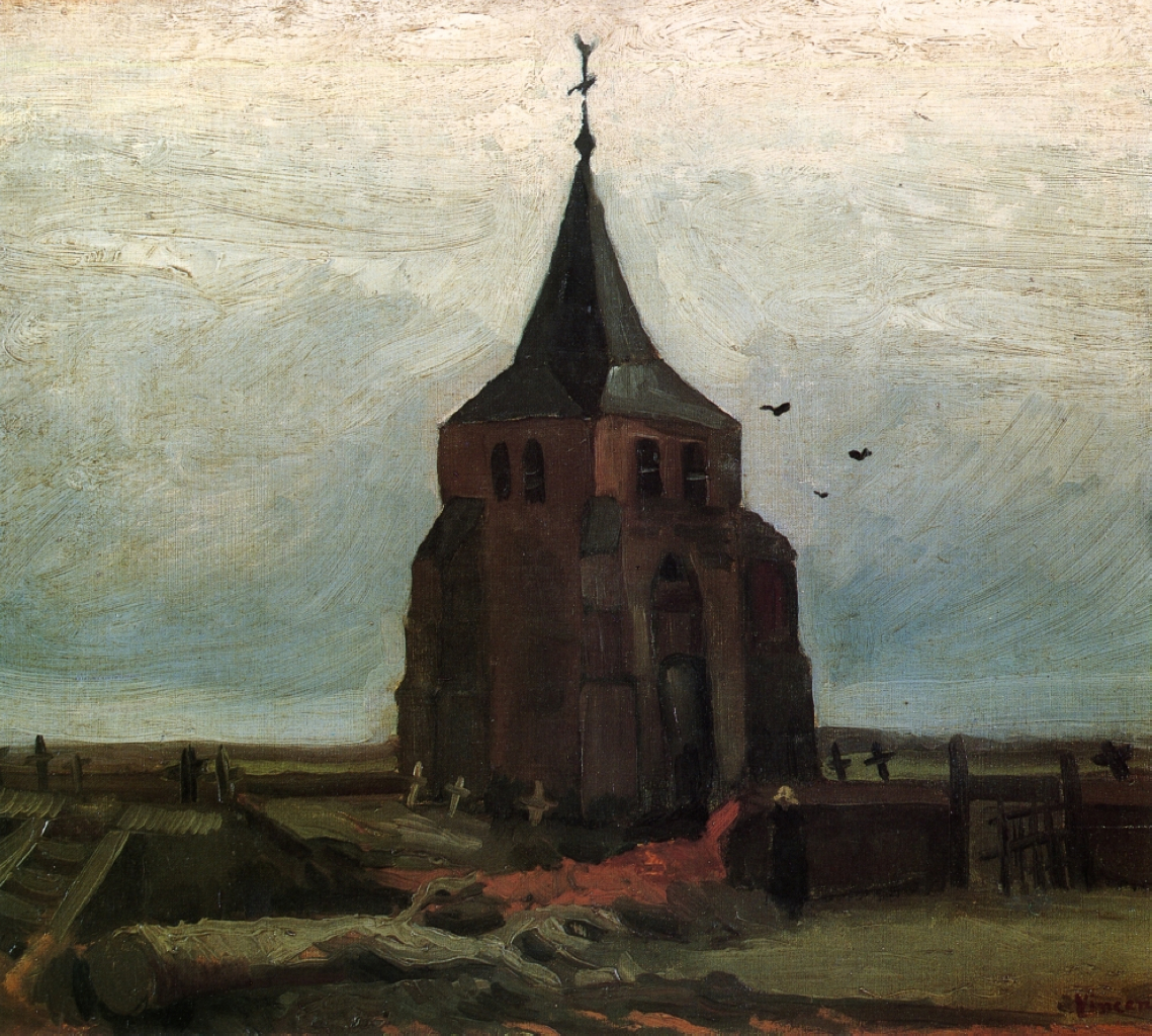 The Old Church Tower at Nuenen 1884