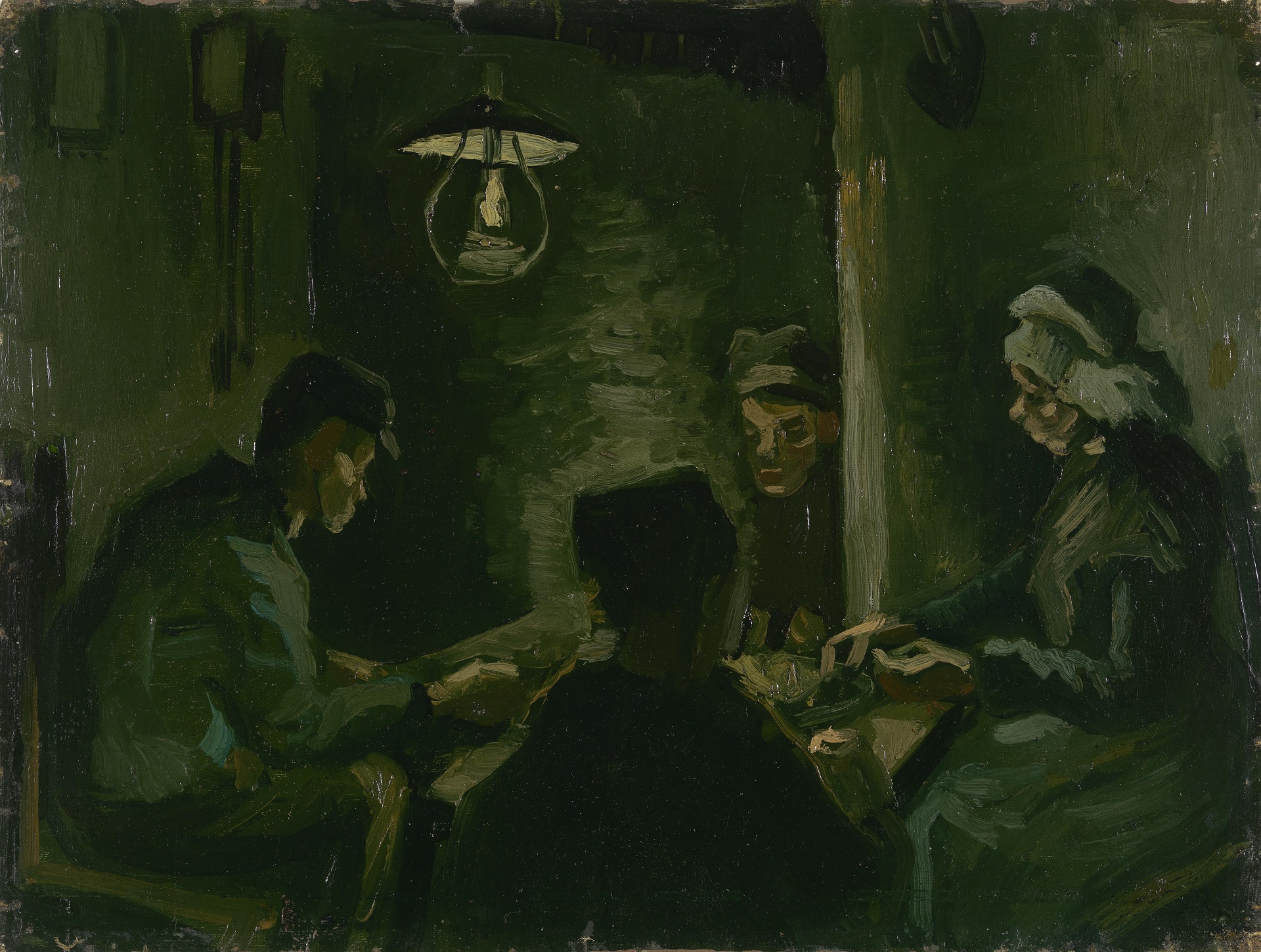 Study for The Potato Eaters 1885