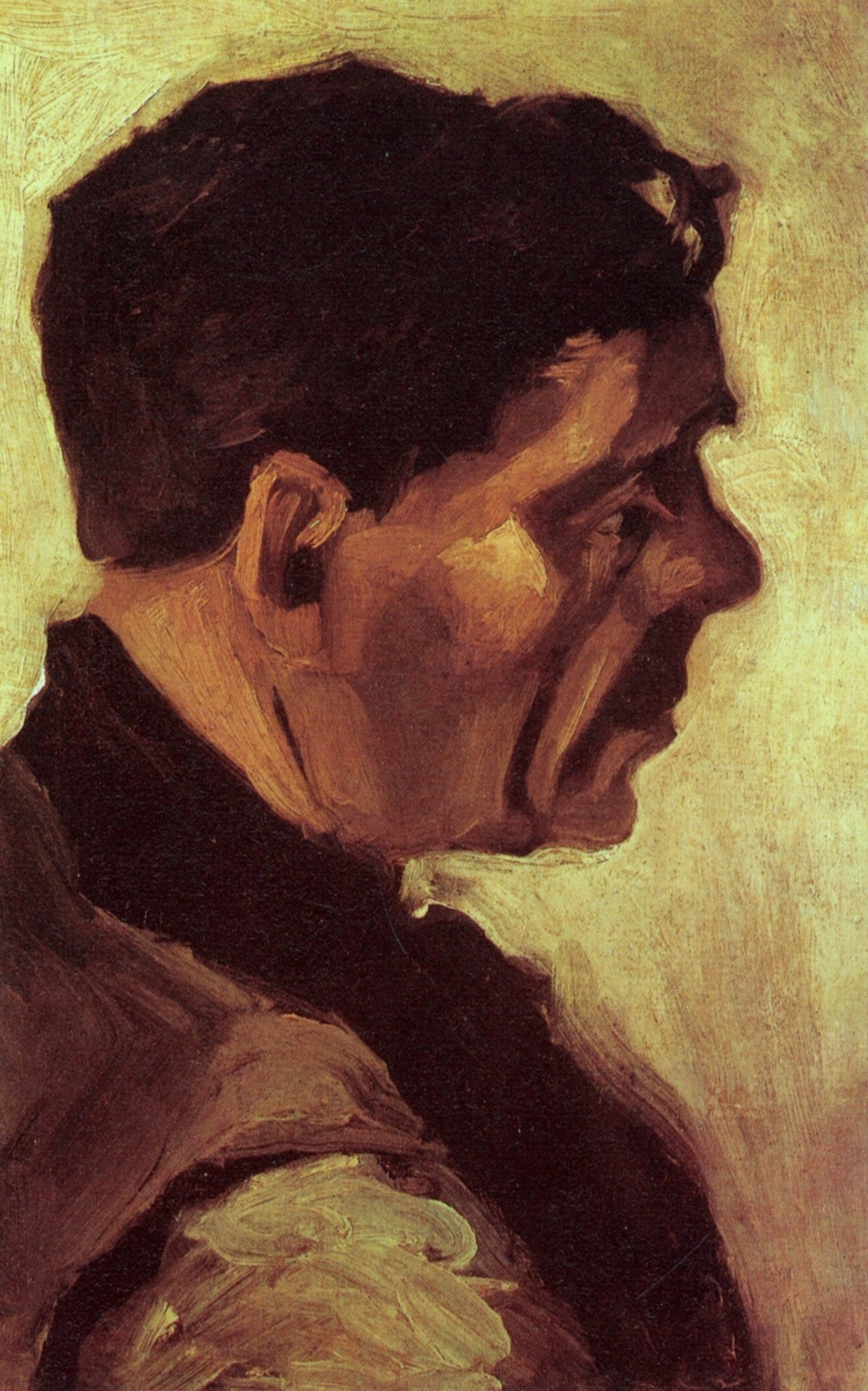 Head of a Peasant 1885