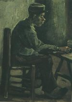 Peasant Sitting at a Table
