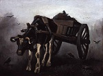 Cart with Black Ox
