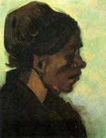 Head of a Brabant Peasant Woman with Dark