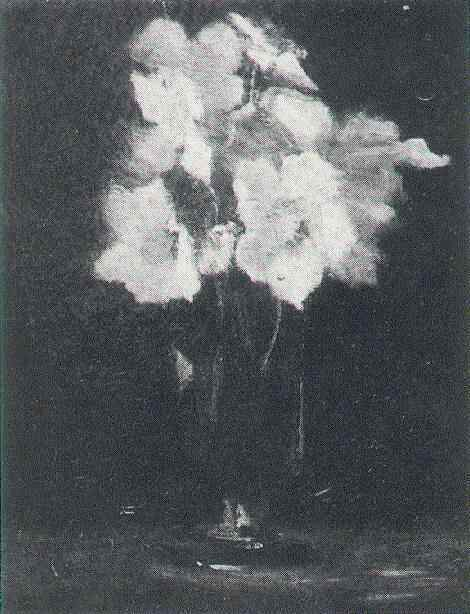 Glass with Hellebores 1886