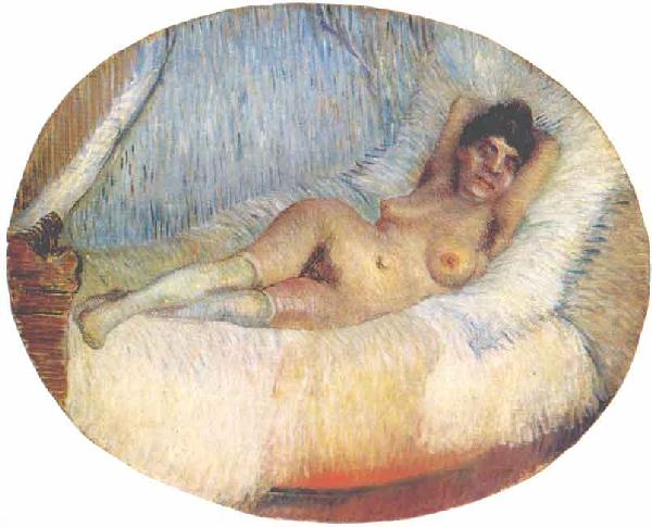 Nude Woman on a Bed 1887