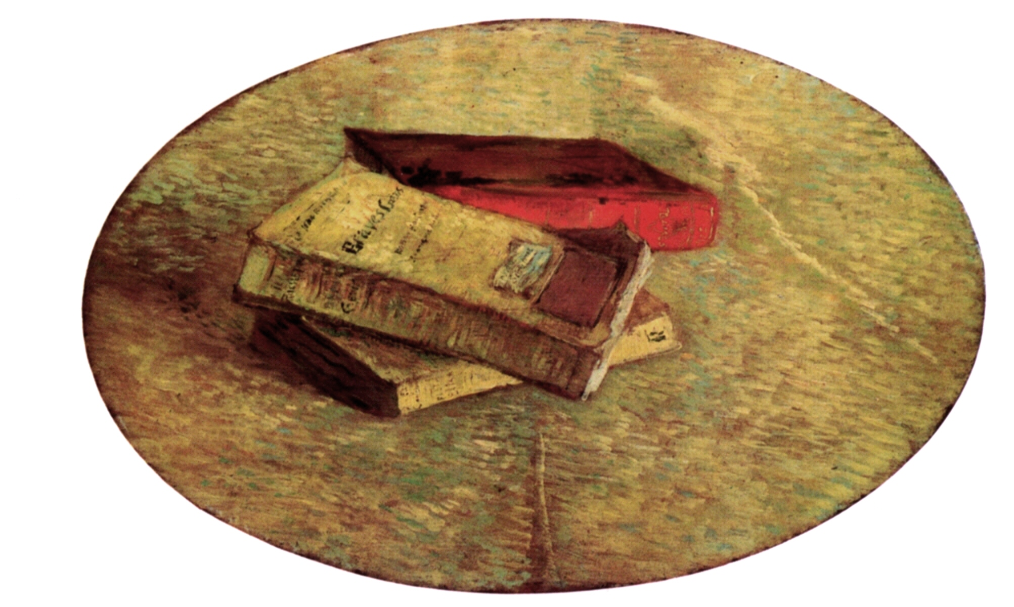 Still Life with Three Books 1887