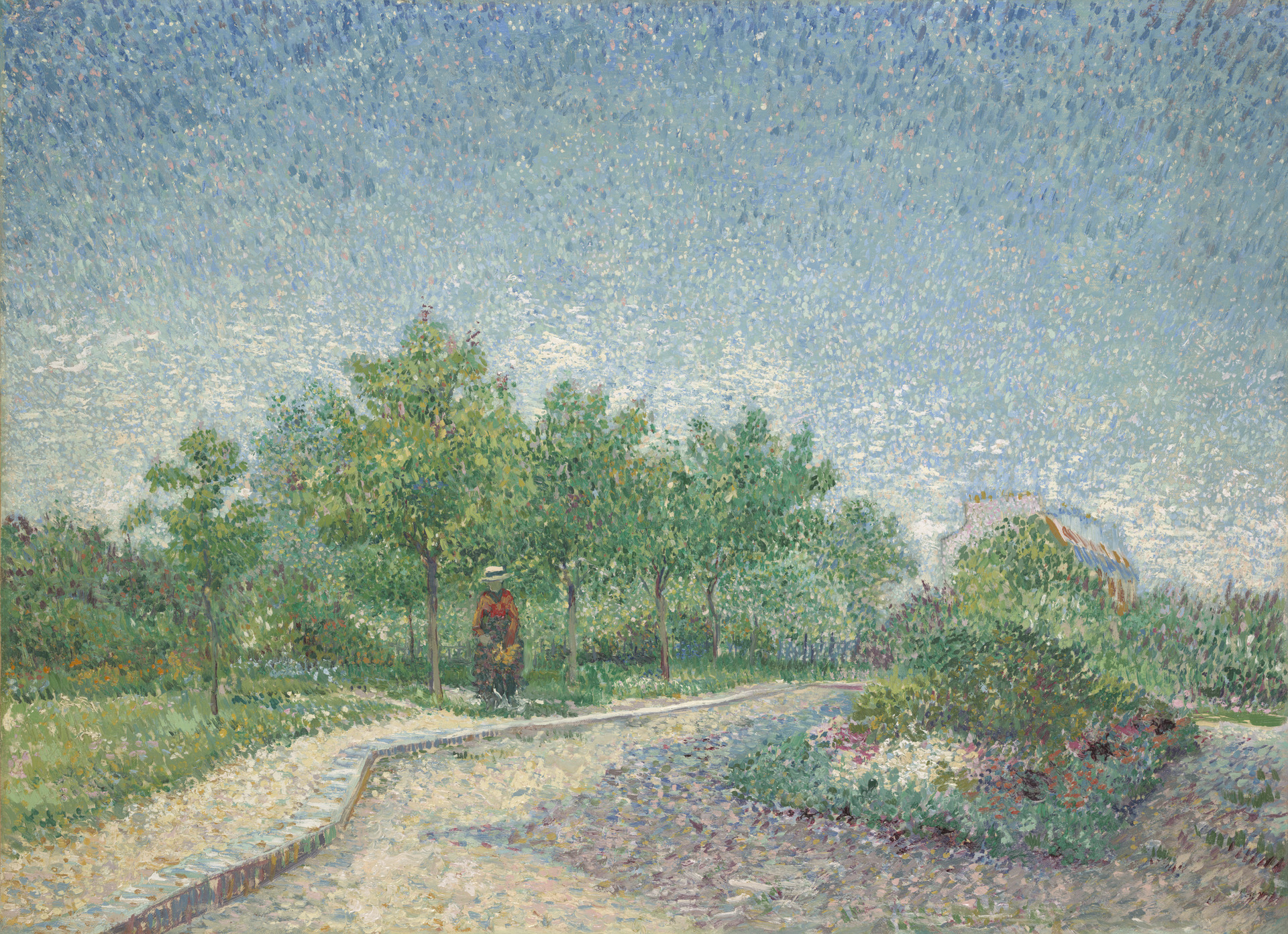 Lane in Voyer d'Argenson Park at Asnieres 1887