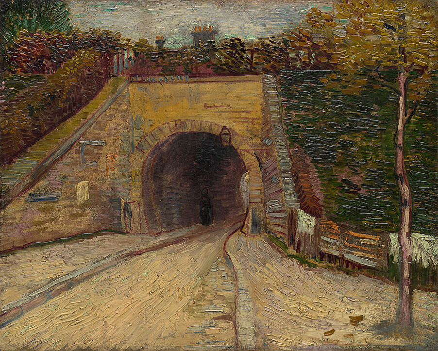 Roadway with Underpass. The Viaduct 1887