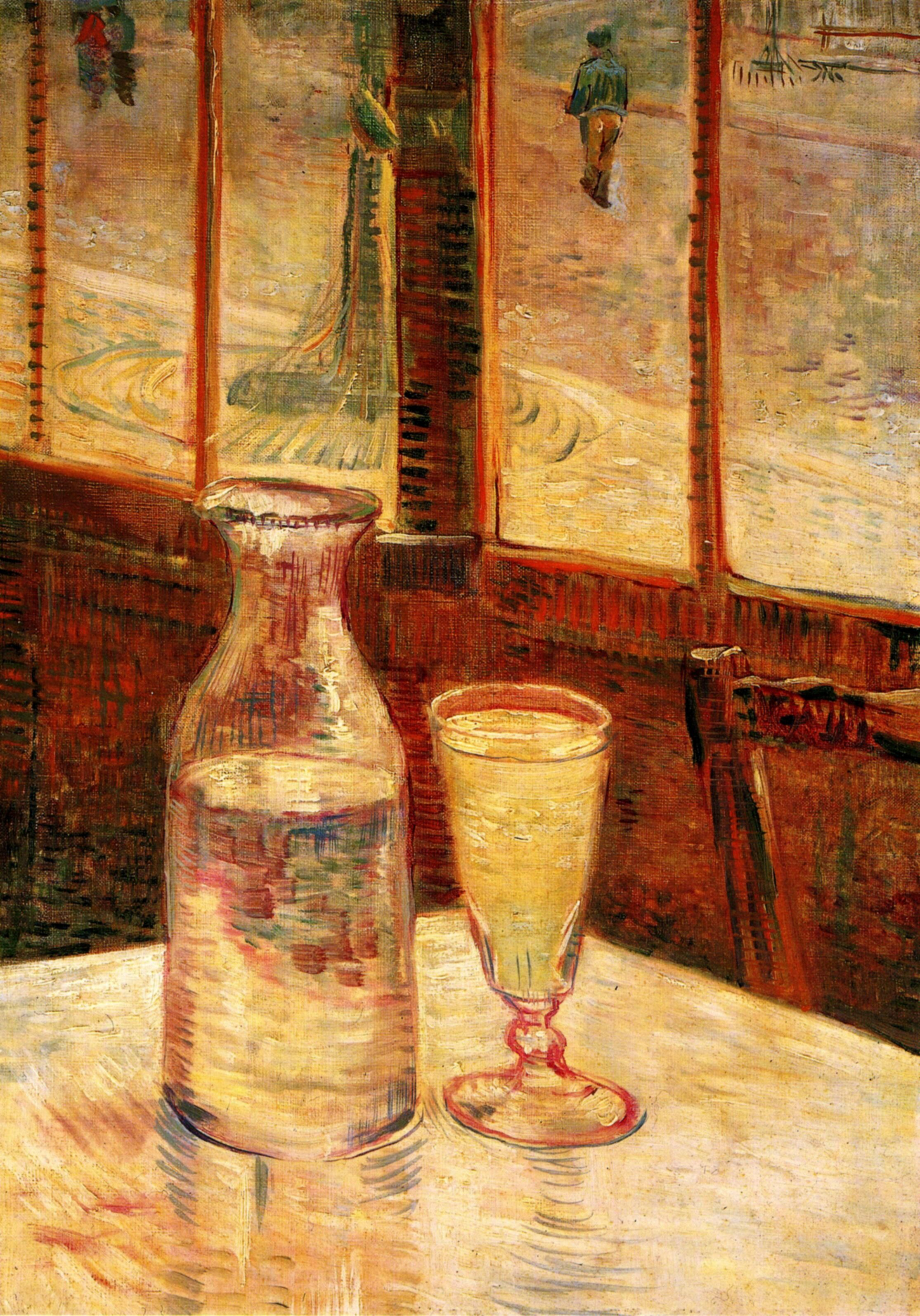 Still Life with Absinthe 1887
