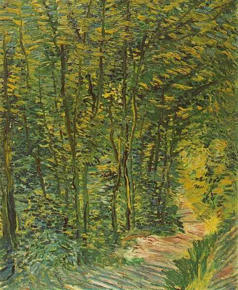 Path in the Woods 1887