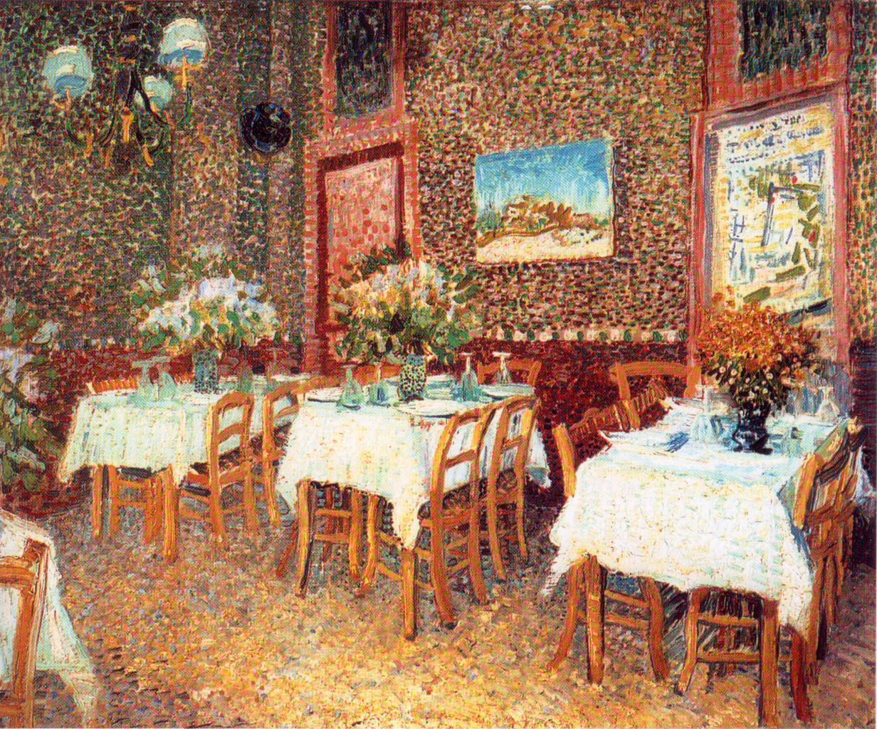 Interior of a Restaurant 1887