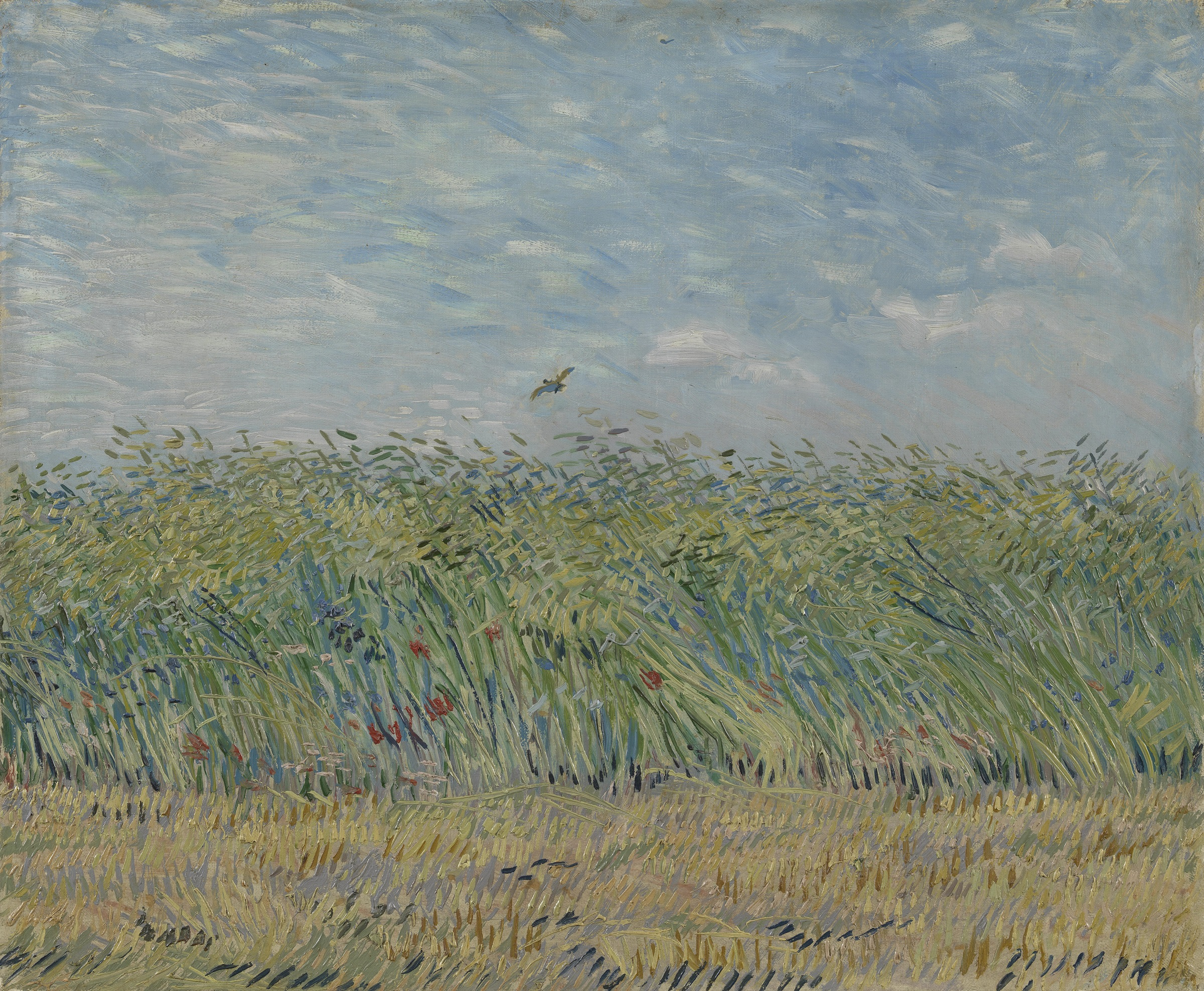 Wheat Field with a Partridge 1887