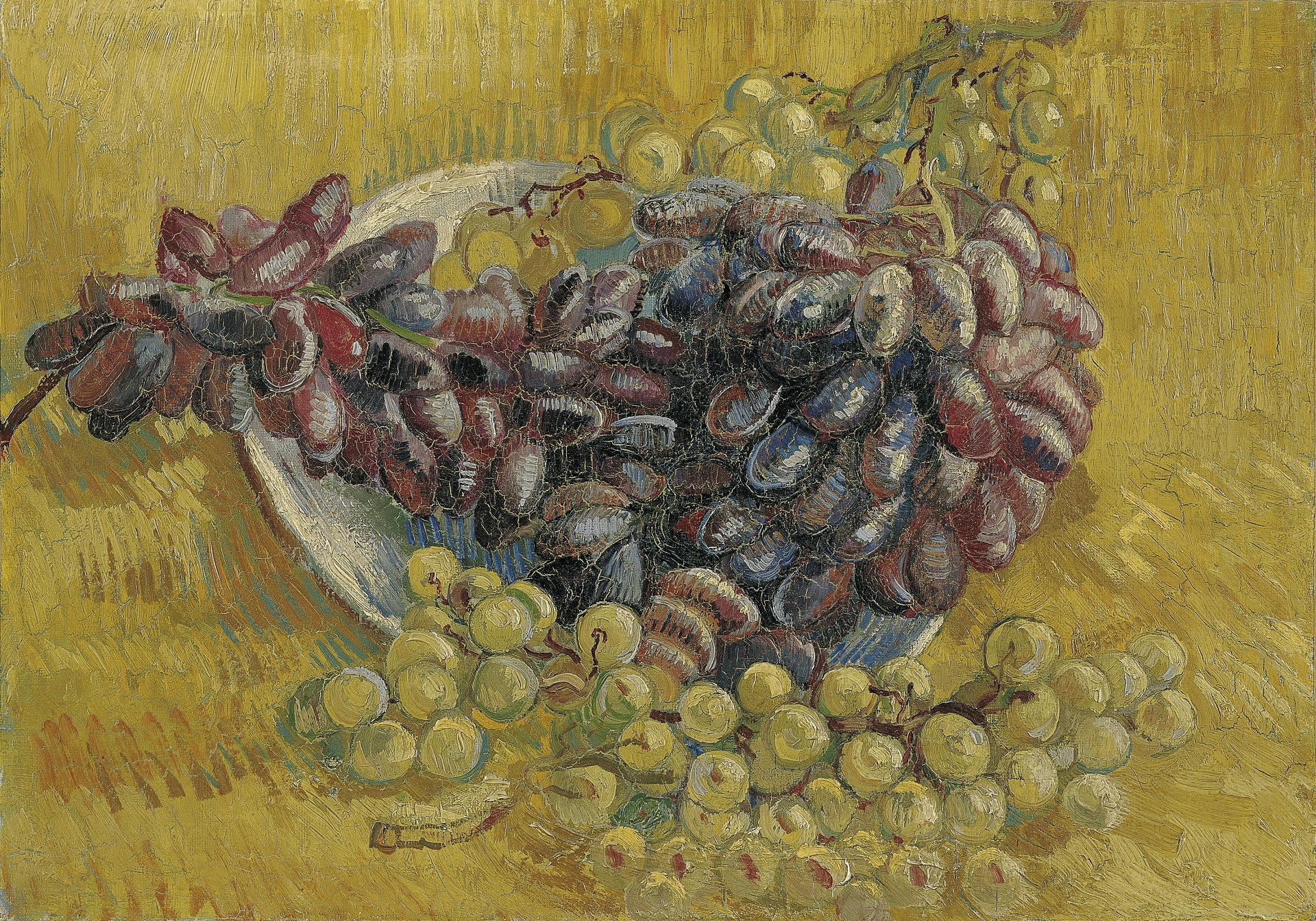 Still Life with Grapes 1887