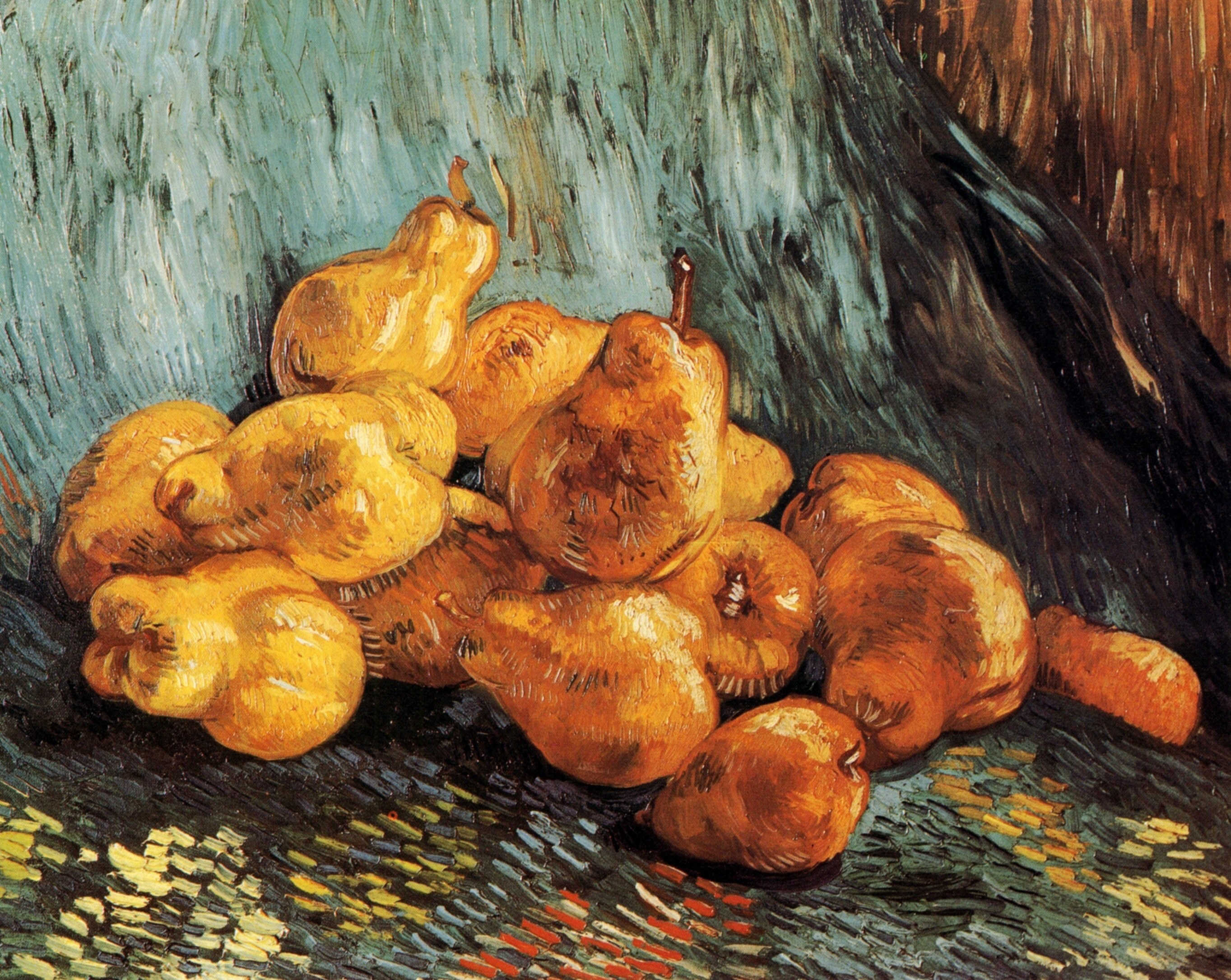 Still Life with Quince Pears 1887-1888