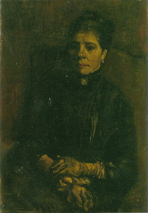 Portrait of a Woman Seated 1886