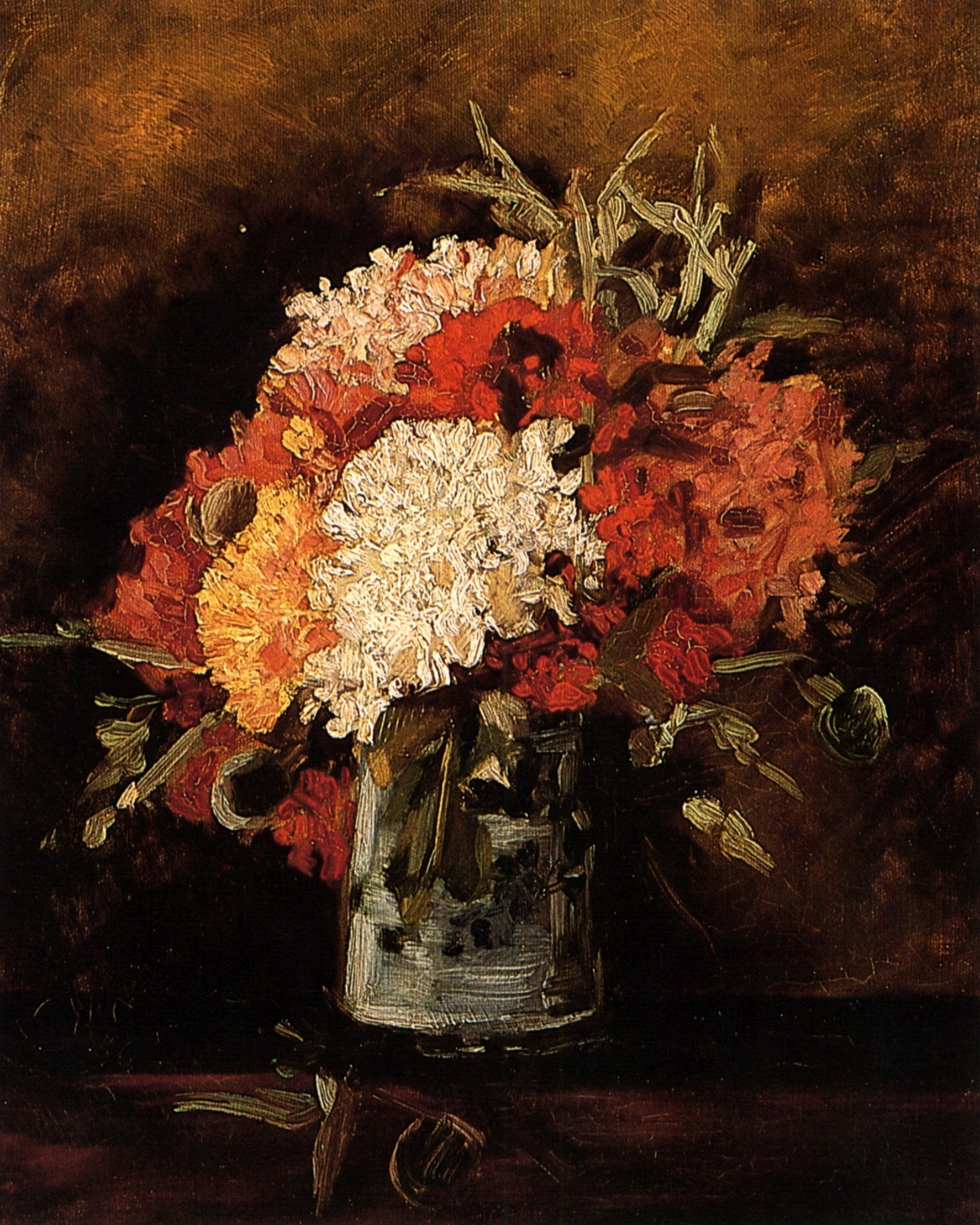 Vase with Carnations 1886