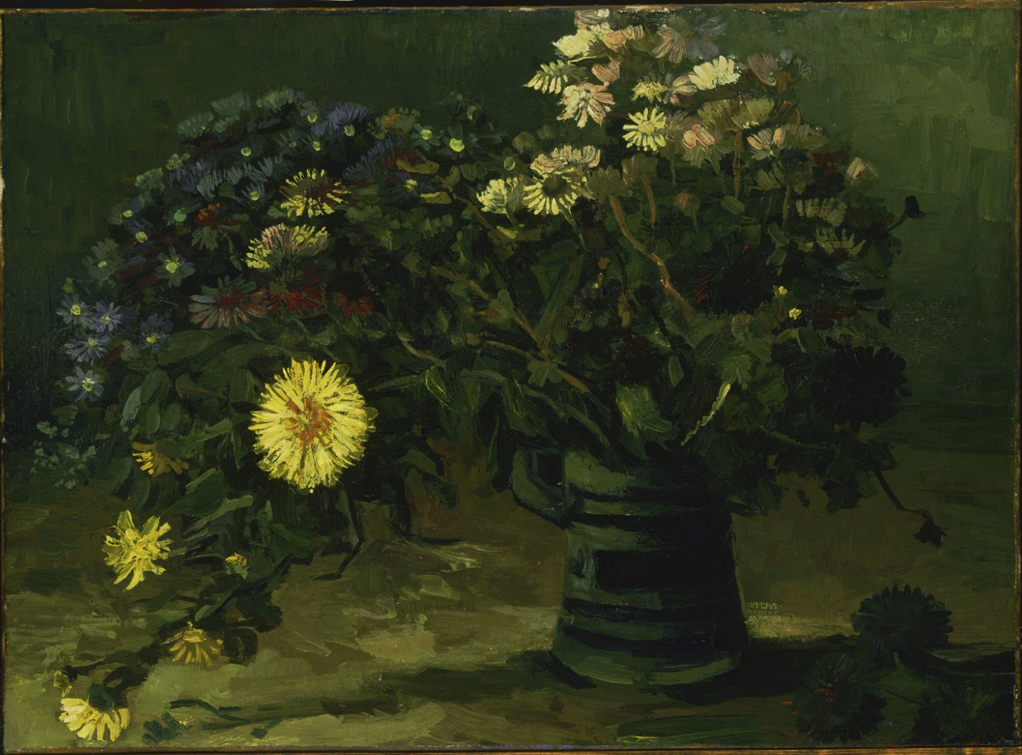 Vase with Daisies  1886