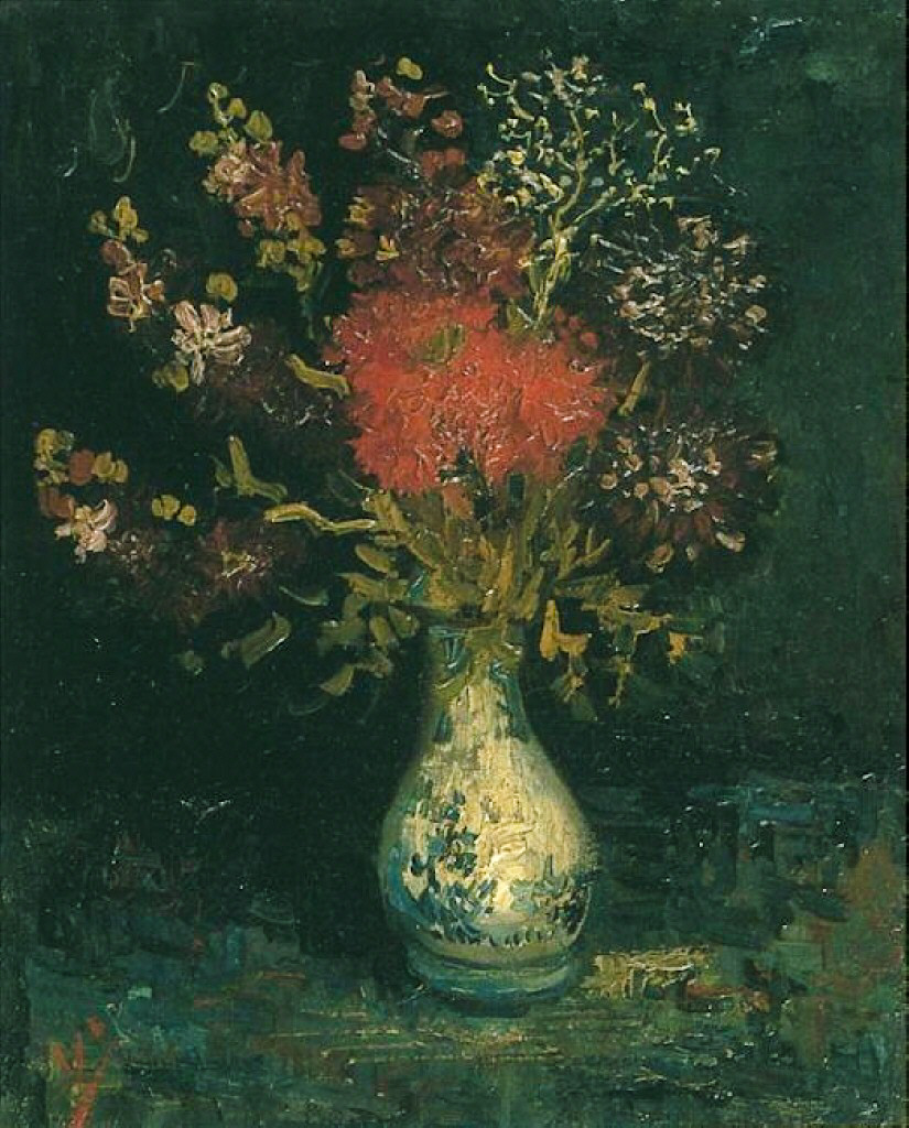 Vase with Flowers 1886