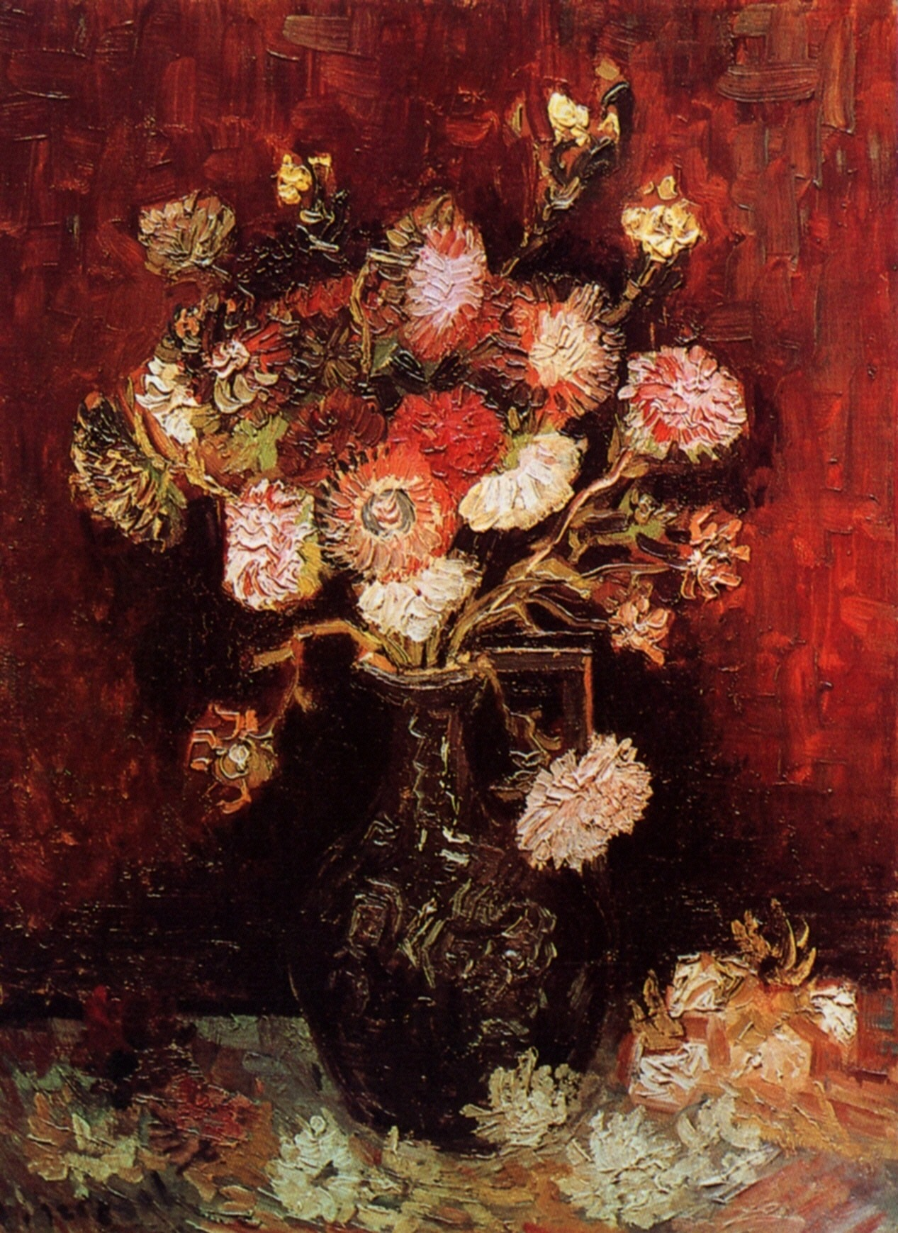 Vase with Asters and Phlox 1886