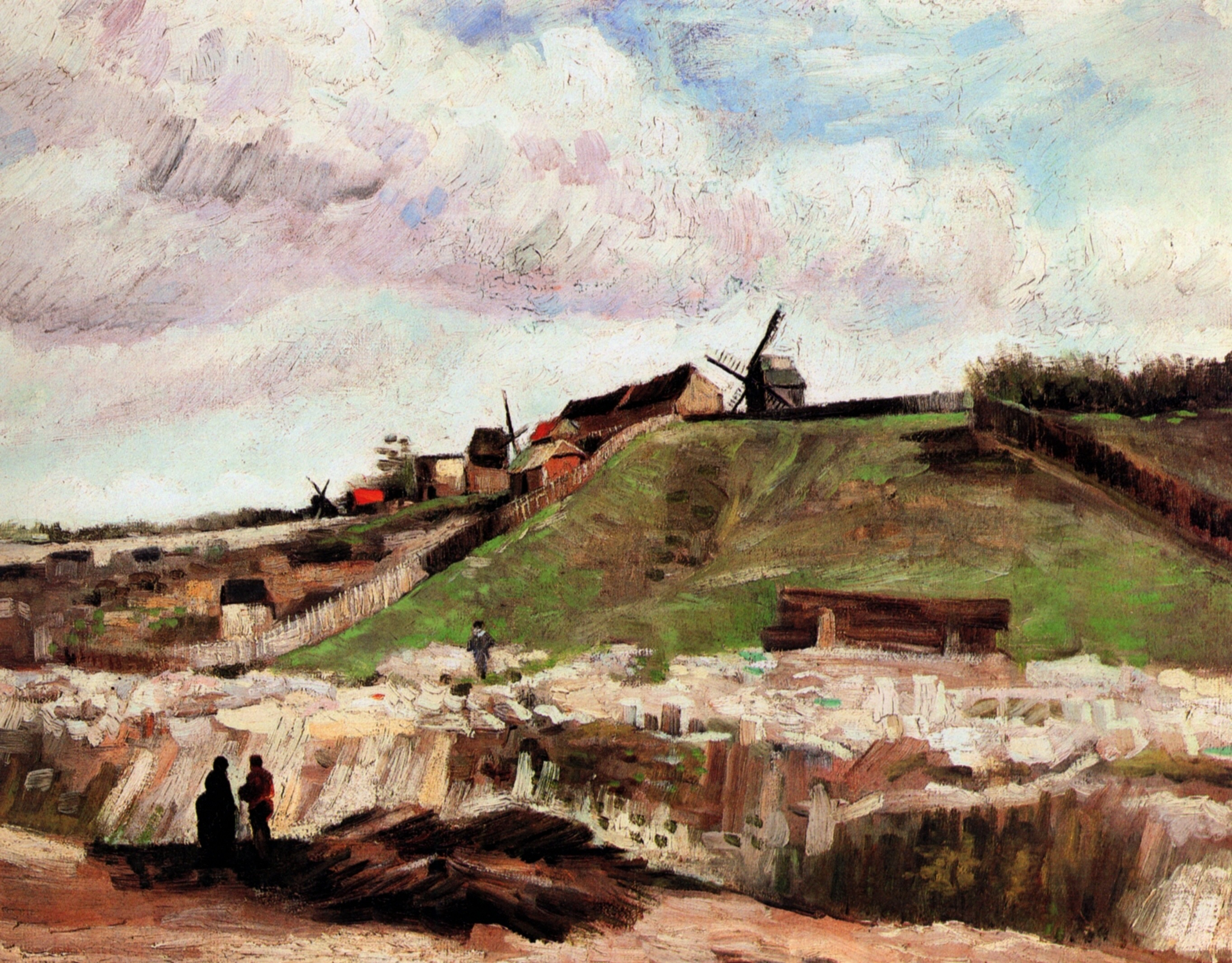 The Hill of Montmartre with Quarry 1886