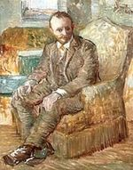 Portrait of the Art Dealer Alexander Reid, Sitting in an Easy Chair