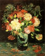 Vase with Carnations
