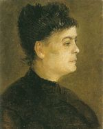 Portrait of a Woman, Facing Right