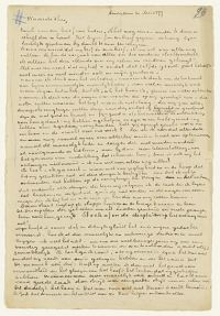The Letters of Vincent van Gogh from Amsterdam