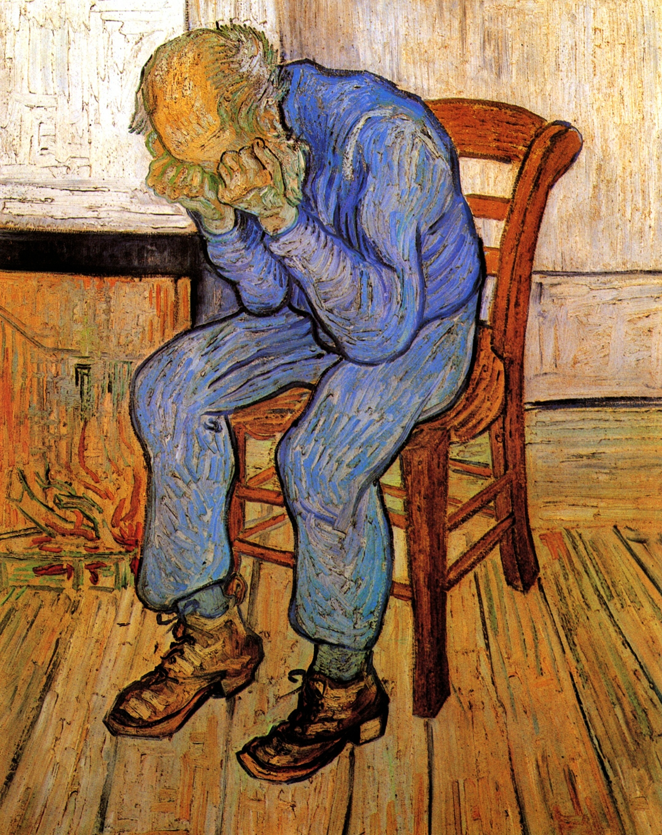 Old Man in Sorrow. On the Threshold of Eternity 1890