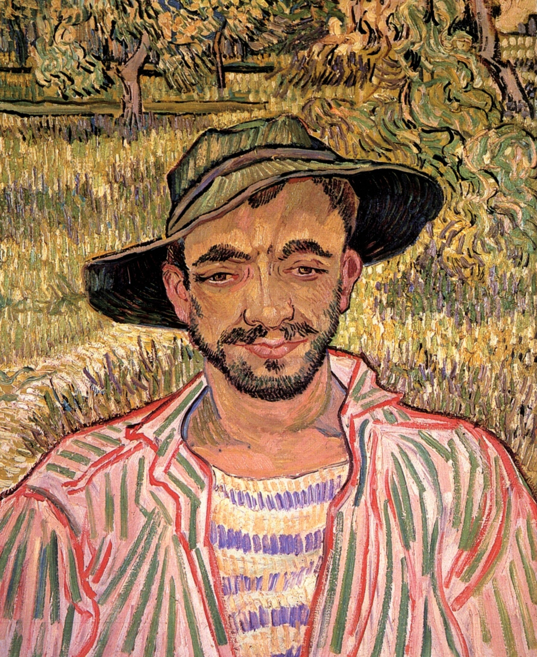 Portrait of a Young Peasant 1889
