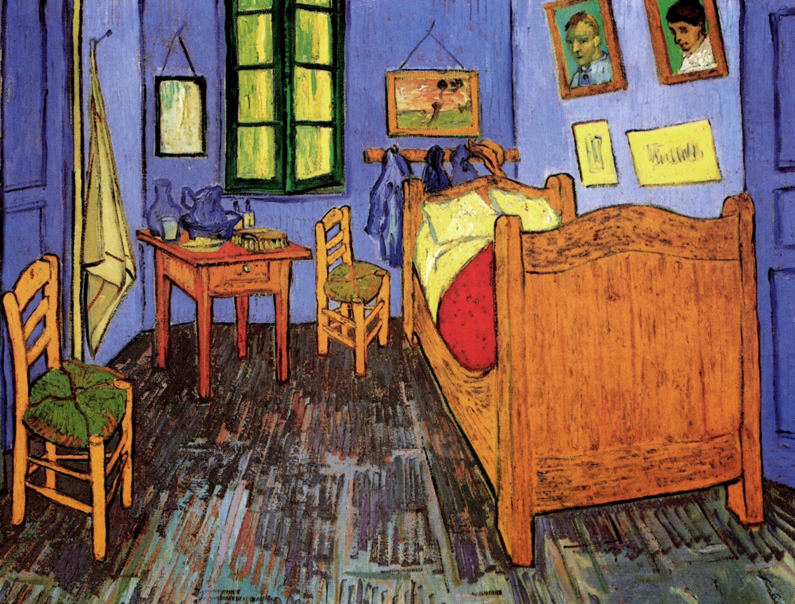 vincent van gogh vincent s bedroom in arles 1889 version from rh art vangogh com van gogh bedroom in arles van gogh bedroom in arles analysis