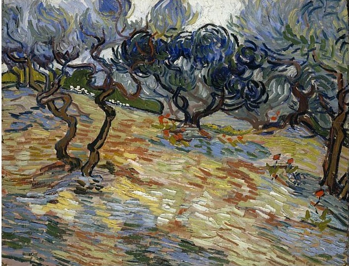 Olive Trees: Bright Blue Sky 1889