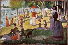 Sunday Afternoon on the Island of La Grande Jatte 1886 Georges Seurat
